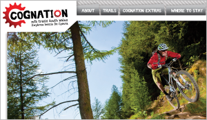 Cognation Mountain Biking – Website design