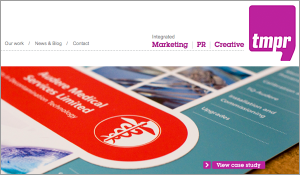 TMPR Marketing –  Website design