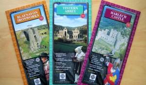 Cadw: Welsh Historic Monuments – Site leaflets